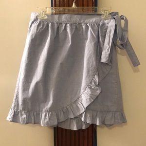 NWT J.Crew Wrap Skirt